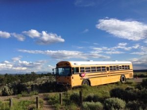 Bus at Wild Rivers