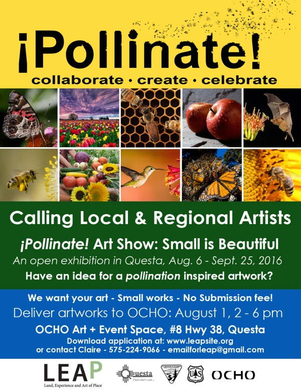 Pollinate Call to Artists Poster