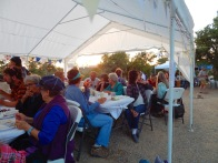 Enjoying the feast!