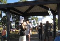 Milkweed Pod Flags by Geraint Smith