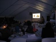 Featured Artist Presentations after dinner
